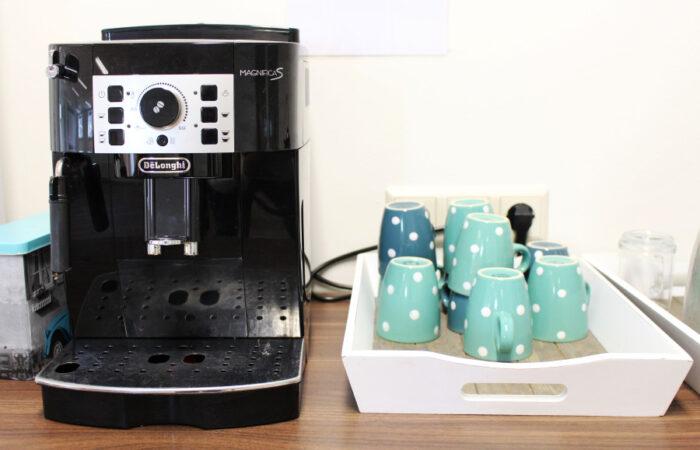 koffie bar in zaal 1 watletjenu